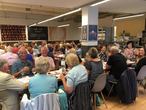 Wine tasting event at Marks and Spencer Beverley