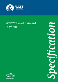 Specification for WSET Level 3 Award in Wines